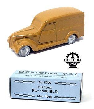 OFFICINA 942 | FIAT 1100 BLR BESTEL OKERGEEL 1948 | 1:43
