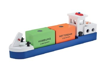 NEW CLASSIC TOYS - RIJNAAK MET 2 CONTAINERS