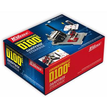 WILESCO - D100E STOOMMACHINE BOUWPAKKET EXPERIMENTEER DOOS - D100E