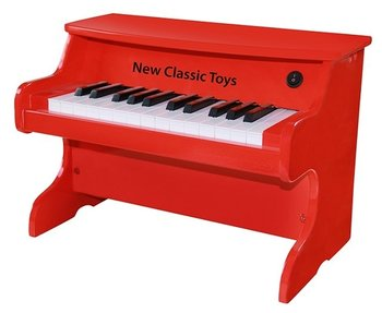 NEW CLASSIC TOYS - E-PIANO ROOD 25 TOETSEN - HOUT