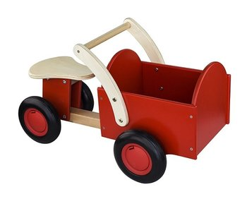 NEW CLASSIC TOYS - LOOPBAKFIETS ROOD  - HOUT