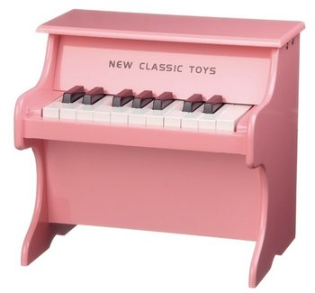 NEW CLASSIC TOYS - PIANO HOUT - ROZE