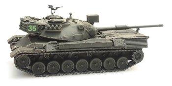ARTITEC - Leopard 1 voor treintransport Belgisch leger (kant en klaar model) - 1:87