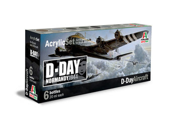 ITALERI - ACRYLIC VERF SET 'D-DAY AIRCRAFT' - 20ML