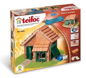 TEIFOC - HUIS MET DAKPANNEN BOUWDOOS - 6+