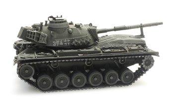 ARTITEC - M48A2GA2 Gelboliv voor treintransport Bundeswehr (kant en klaar model) - 1:87