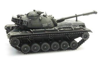 ARTITEC - M48A2 Gelboliv voor treintransport Bundeswehr (kant en klaar model) - 1:87