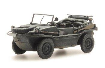 ARTITEC - Schwimmwagen VW 166 K2s Donkergrijs ( kant en klaar model ) - 1:87