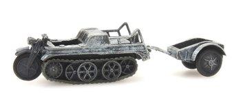 ARTITEC - SdKfz 2 Kettenkrad winter (kant en klaar model) - 1:87