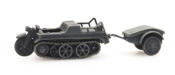 ARTITEC - SdKfz 2 Kettenkrad grijs (kant en klaar model) - 1:87