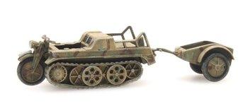 ARTITEC - Kettenkrad Tarnung Camouflage (kant en klaar model) - 1:87