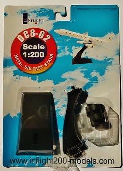 INFLIGHT200 - STANDAARD VOOR DC-8 VLIEGTUIGMODEL - 1:200