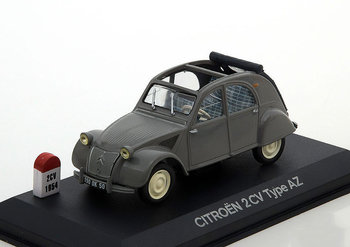 ATLAS EDITIONS - CITROEN 2CV TYPE AZ 'GREY' 1956 - 1:43