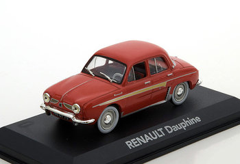 ATLAS EDITIONS - RENAULT DAUPHINE 'RED' 1958 - 1:43