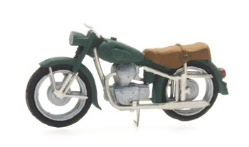 ARTITEC - BMW R25 MOTOR CIVIEL GROEN (READY-MADE) - 1:87