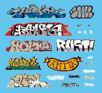 ARTITEC | GRAFFITI DECAL (KANT EN KLAAR) | 1:87