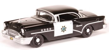 OXFORD DIECAST | BUICK CENTURY 'CALIFORNIA HIGHWAY PATROL' 1955 | 1:87