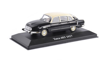 ATLAS EDITIONS | TATRA 603 BLACK/WHITE 1957 | 1:43