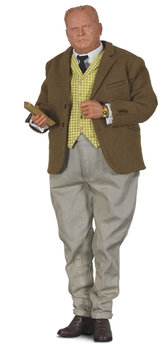 BIG CHIEF STUDIOS | JAMES BOND SCALE FIGUUR 'AURIC GOLDFINGER' GOLDFINGER LIM. ED. | 1:6