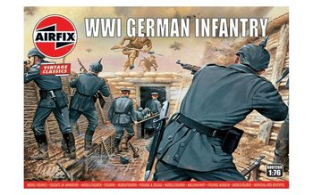 AIRFIX CLASSICS   WWI GERMAN INFANTERY (VINTAGE CLASSICS)   1:76