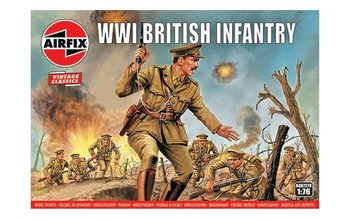 AIRFIX CLASSICS | WWI BRITISH INFANTERY (VINTAGE CLASSICS) | 1:76