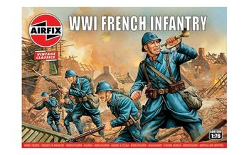 AIRFIX CLASSICS | WWI FRENCH INFANTERY (VINTAGE CLASSICS) | 1:76