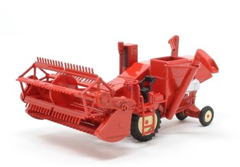 OXFORD DIECAST | COMBINE HARVESTER (ROOD) 1954 | 1:76