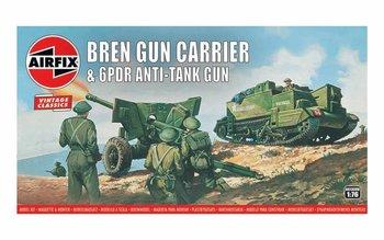 AIRFIX CLASSICS | BREN GUN CARRIER & GPDR ANTI-TANK GUN (VINTAGE CLASSICS) | 1:76
