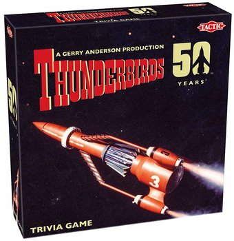 TACTIC | THUNDERBIRDS TRIVIA GAME '50 YEARS' (BORDSPEL) | 12+