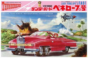 AOSHIMA | THUNDERBIRDS LADY PENELOPES FAB 1 (PLASTIC MODELBOUWDOOS) | 1:32