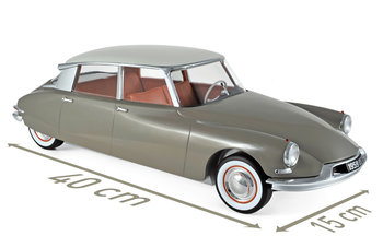 NOREV | CITROEN DS 19 MARRON CLACE & BLANC CARRARE 1959 | 1:12