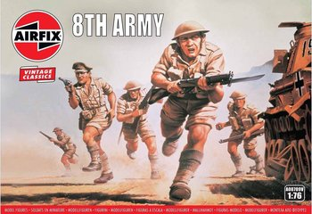 AIRFIX CLASSICS | WWII BRITISH 8TH ARMY (VINTAGE CLASSICS) | 1:76