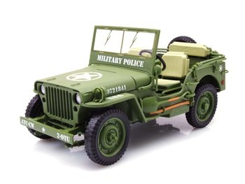 TRIPLE 9 | WILLYS JEEP US ARMY 'MILITARY POLICE' 1944 LIM.ED. | 1:18