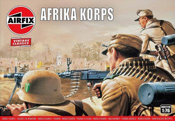 AIRFIX CLASSICS | AFRIKA KORPS WWII (VINTAGE CLASSICS) | 1:76