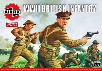 AIRFIX CLASSICS | BRITISH INFANTERY WWII (VINTAGE CLASSICS) | 1:76