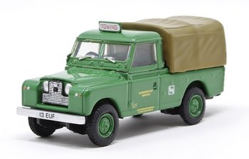 OXFORD DIECAST | LAND ROVER SERIES II LWB CANVAS 'SOUTHDOWN MOTOR SERVICES' 1960 | 1:76
