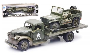 NEWRAY | CHEVROLET TRUCK & JEEP WILLYS 1941 | 1:32