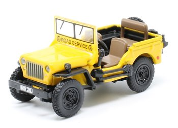 OXFORD DIECAST | WILLYS MB JEEP AA 'ROAD SERVICE' | 1:76