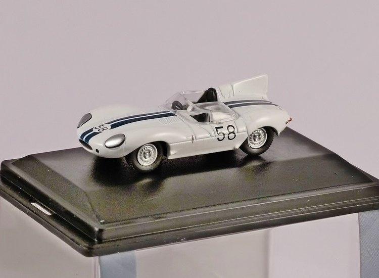 Model Cars Oxford Diecast 1//76 Jaguar D Type Walt Hansgen