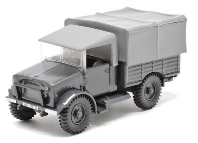 OXFORD DIECAST | BEDFORD MWD CAPTURED LUFTWAFFE | 1:76