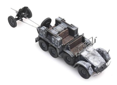 ARTITEC | KRUPP-PROTZE + 3.7 CM-PaK 'WINTER' (READY MADE) | 1:87