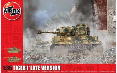 AIRFIX | TIGER-1 'LATE VERSION' 1944 (PLASTIC BOUWPAKKET)  | 1:35