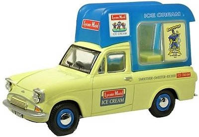 OXFORD DIECAST | FORD ANGLIA IJSCOWAGEN 'LYONS MAID' 1962 | 1:43