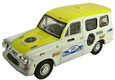 OXFORD DIECAST | FORD ANGLIA SUPERVAN 'A MAP WITH GAPS' 1972 | 1:43