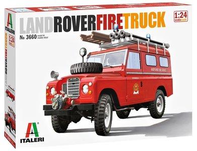 ITALERI | LAND ROVER FIRE TRUCK | 1:24