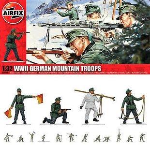 AIRFIX | WWII GERMAN MOUNTAIN TROOPS (PLASTIC FIGUREN) | 1:32