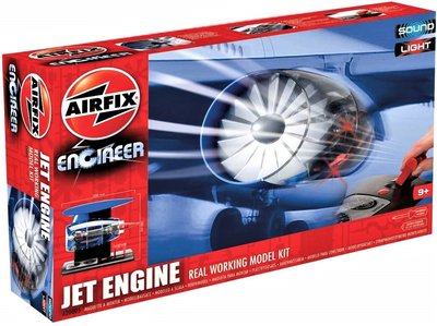 AIRFIX | JET ENGINE (WORKING MODEL KIT) | ENCINEER