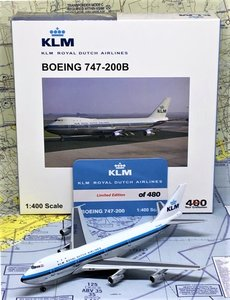 BIG BIRD | KLM BOEING 747-200B 'THE NILE' PH-BUD 1972 LIM.ED. | 1:400