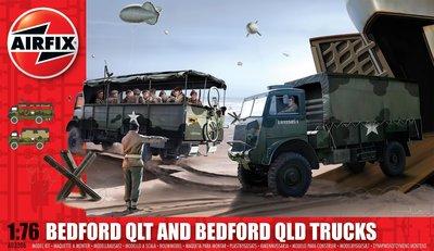 AIRFIX | BEDFORD QLT AND BEDFORD QLD TRUCKS | 1:76