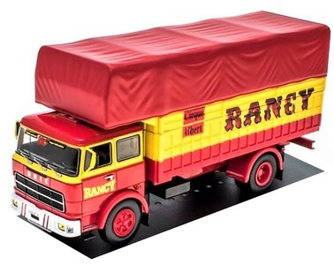 IXO MODELS | UNIC 220 CIRCUS RANCY (FRANCE) 1979 | 1:43